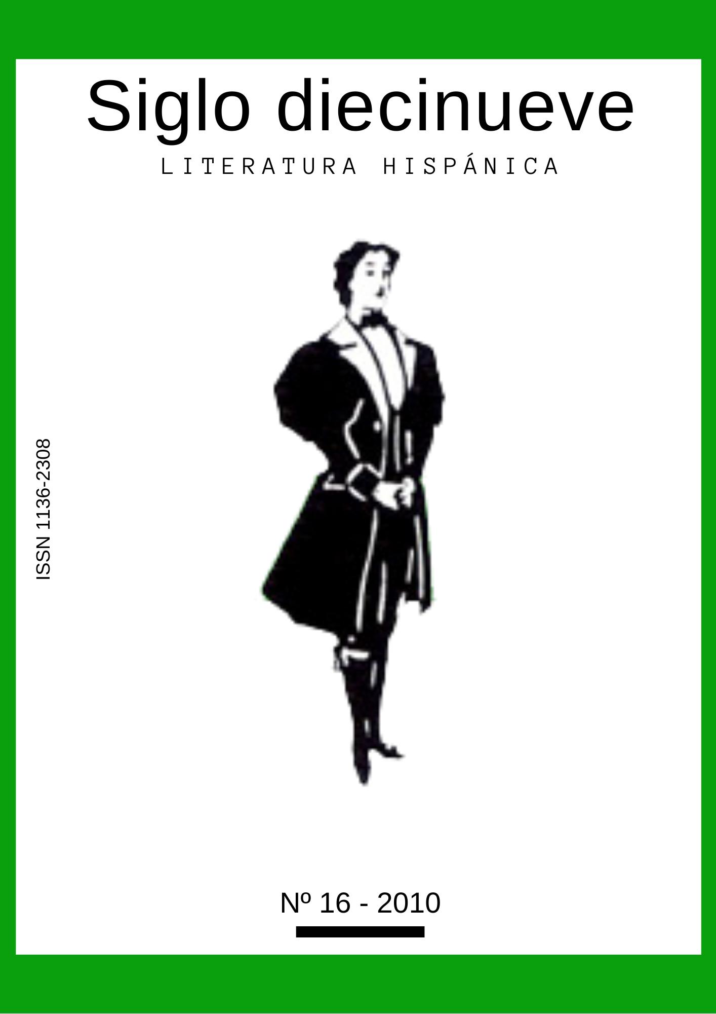 Siglo Diecinueve (Literatura hispánica) N16